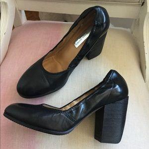 Mint Dries Van Noten black heels, 38.